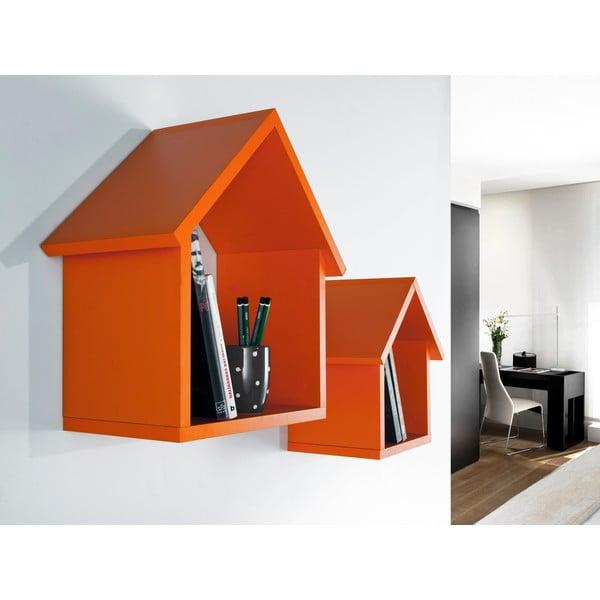 Zestaw 2 półek Maison, pomarańczowy