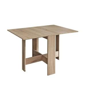 Brązowy rozkładany stół 13CasaTrick