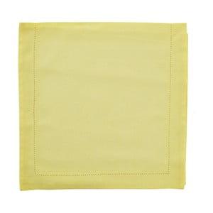 Bieżnik Ajour 45x150 cm, żółty
