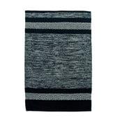 Czarno-biały dywan  Cotton, 70x110 cm