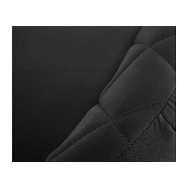 Czarna sofa 2-osobowa Scandi by Stella Cadente Maison Diva