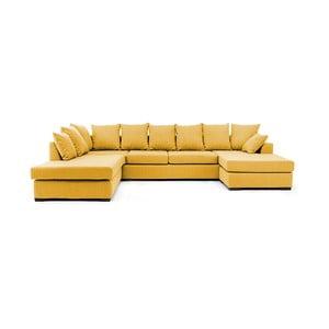 Sofa (zestaw wypoczynkowy) VIVONITA Linus, żółta