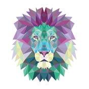Naklejka Ambiance Origami Lion