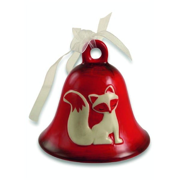Zestaw 12 dzwoneczków Xmas White Fox