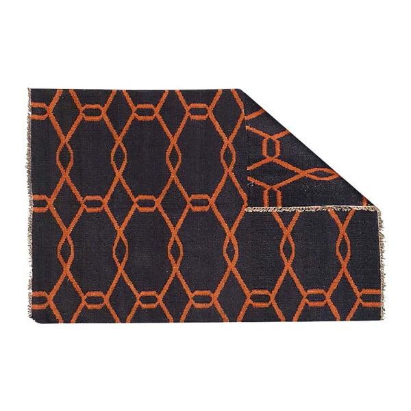 Dywan wełniany Kilim D 823, 120x180 cm