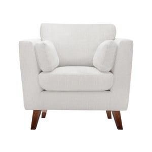 Kremowy fotel Jalouse Maison Elisa