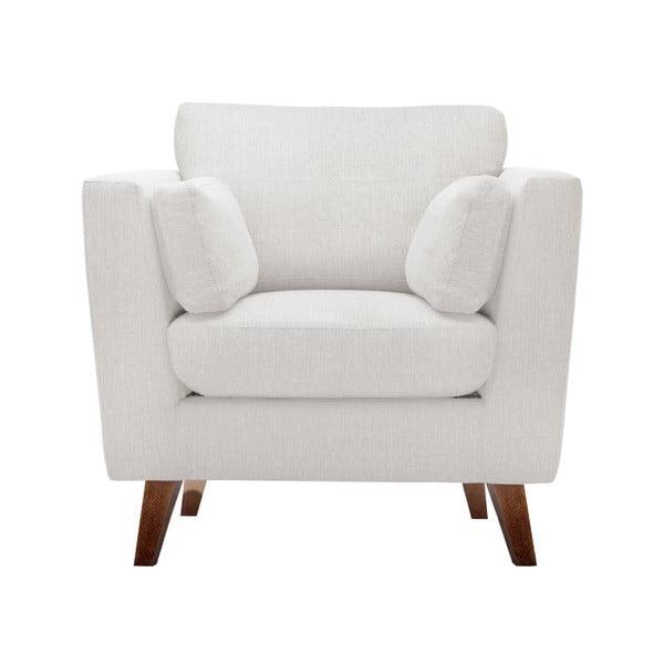 Zestaw fotela i 2 sof dwuosobowej i trzyosobowej Elisa, kremowe