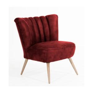 Czerwony fotel Max Winzer Alessandro