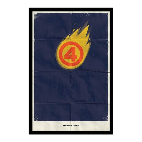 Plakat Human Torch, 35x30 cm