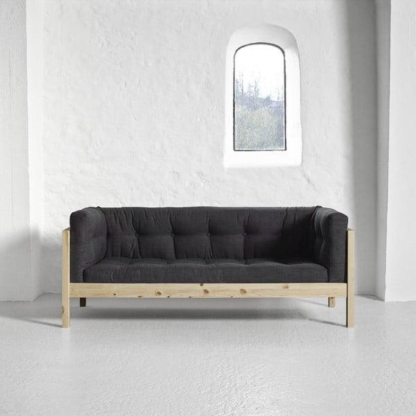 Sofa   dwuosobowa Karup Fusion Natural/Linoso Dark Gray