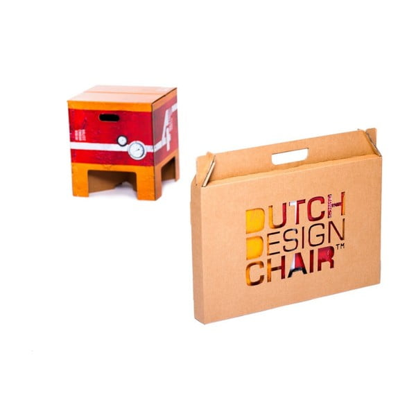Taboret Dutch Design Chair Heavy Metal