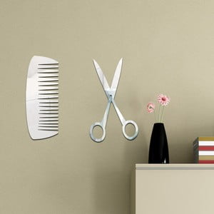 Lustro dekoracyjne Fryzjer