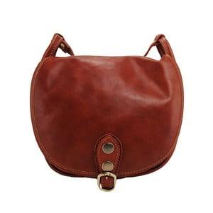 Skórzana torebka Amarette Marrone