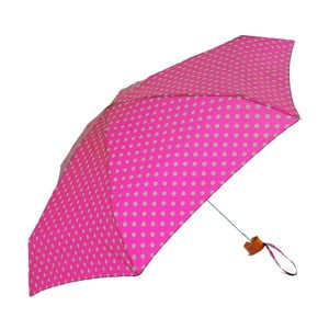 Różowa parasolka Ambiance Bright Polka Dots Pink