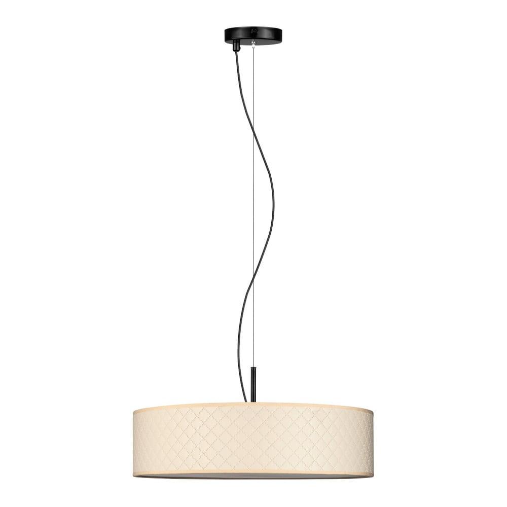 Kremowa lampa wisząca Bulb Attack Trece