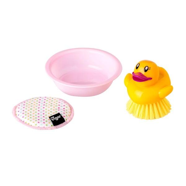 Szczotka do mycia naczyń Vigar Little Duck