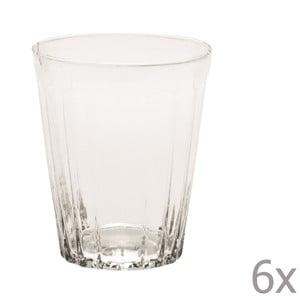 Zestaw 6 szklanek na wodę Lucca Transparent, 450 ml