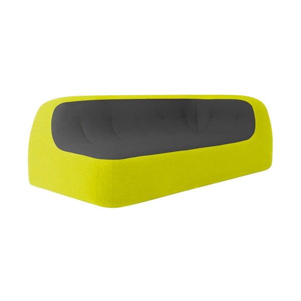 Sofa Sand, żółto-czarna