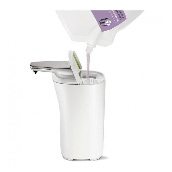 Bezdotykowy dozownik do mydła simplehuman Compact, biały