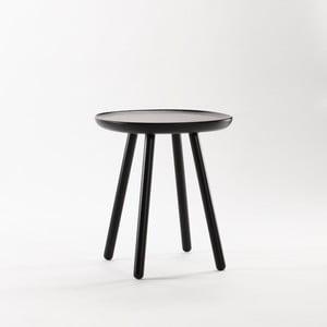 Czarny stolik z litego drewna EMKO Naïve Small