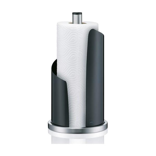 Stojak   na ręczniki papierowe Stella, czarny