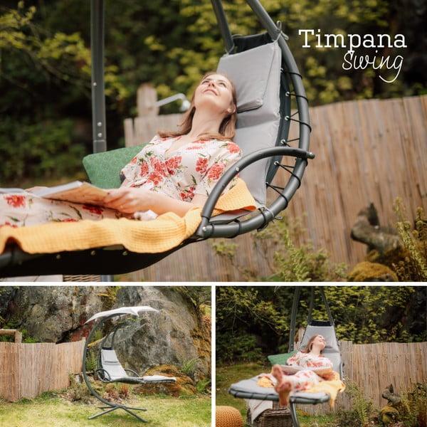 Fotel z parasolem Timpana Swing