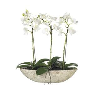 Sztuczne orchidee w doniczce