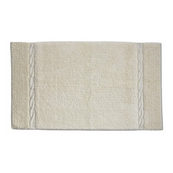 Beżowy dywanik łazienkowy Kela Ladora