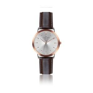 Zegarek męski z brązowym skórzanym paskiem Frederic Graff Breithorn