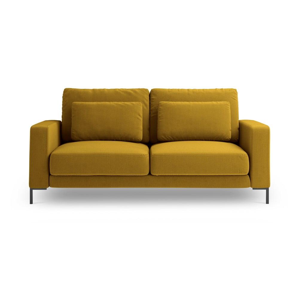 Musztardowożółta sofa Interieurs 86 Seine, 158 cm