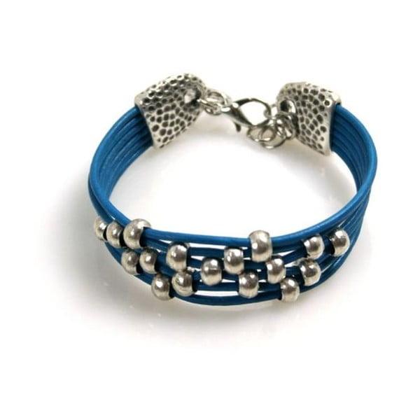Bransoletka Pearls, niebieska