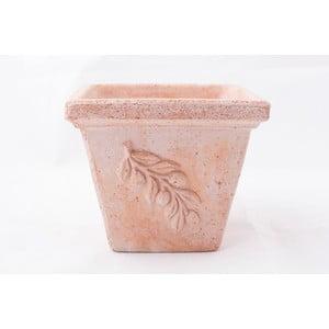 Doniczka ceramiczna Olive 18 cm, czerwona