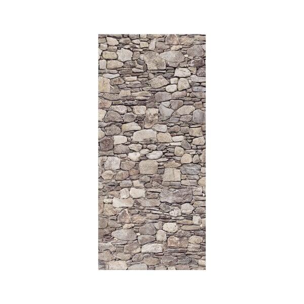 Naklejka na drzwi Kamienna ściana