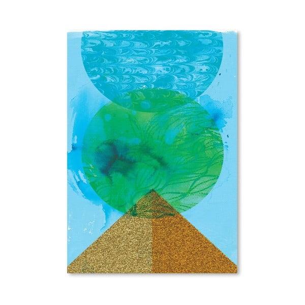 Plakat Golden Green, 30x42 cm