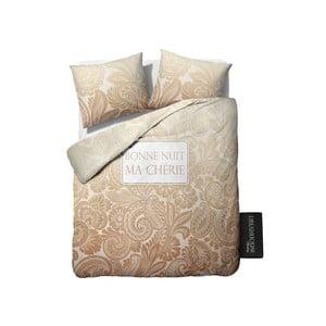 Beżowa pościel Dreamhouse Ma Cherie, 200x200 cm