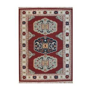 Wełniany dywan Kosak Red, 160x230 cm