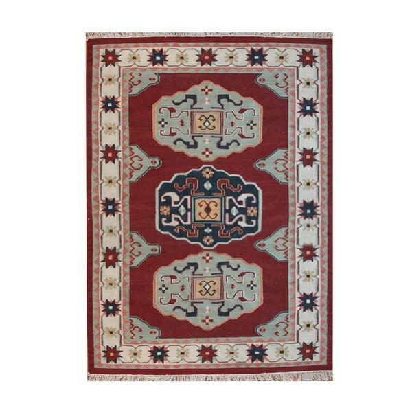 Wełniany dywan Kosak Red, 200x300 cm