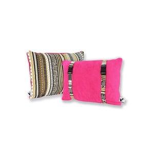 Wodoodporna dwustronna poduszka Dream Pillow Fuchsia Tribal