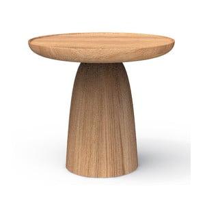 Stolik z litego drewna dębowego Javorina Hrib 50