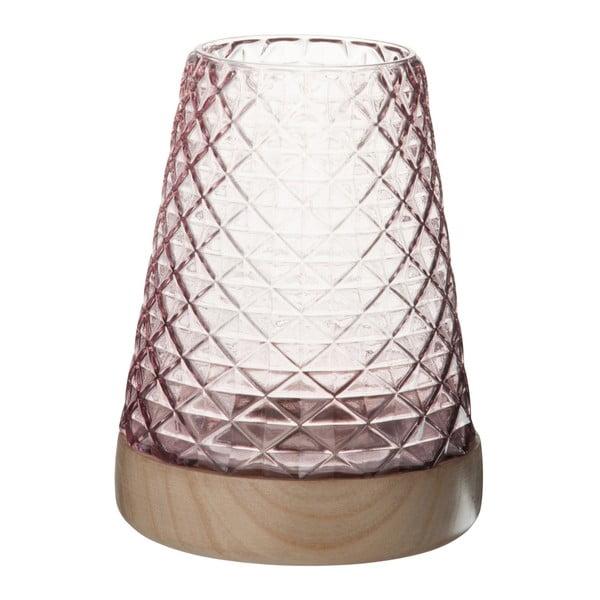 Szklany   lampion Mauvel, wysokość 22 cm
