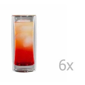 Zestaw 6   mały szklanek bloomix Kavex