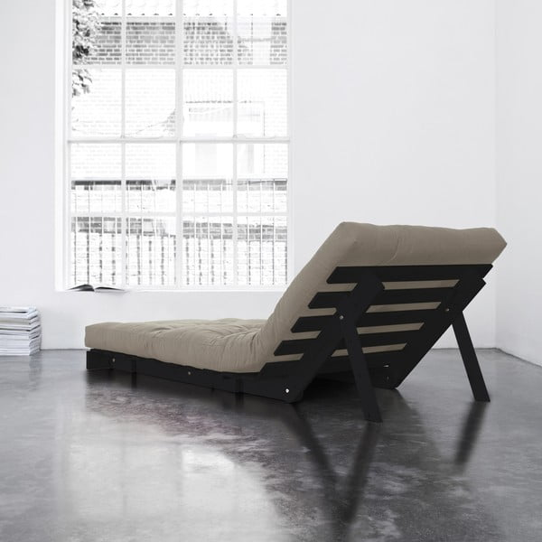 Fotel rozkładany Karup Roots Wenge/Vision