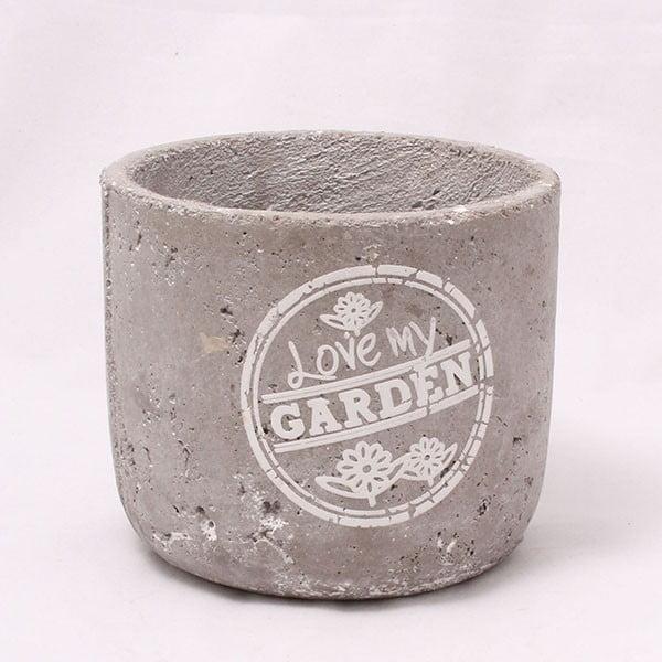 Cementowa doniczka Garden, 14 cm
