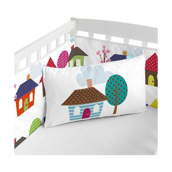 Ochraniacz do łóżeczka Mr. Fox Happy Homes, 210x40 cm