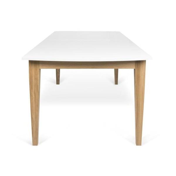 Biały rozkładany stół do jadalni TemaHome Niche