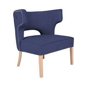 Niebieski fotel BSL Concept Canvas