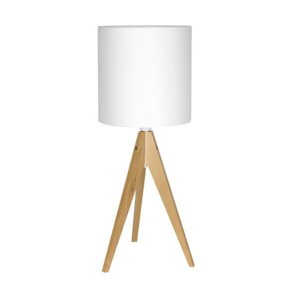 Lampa stołowa Artist White/Birch, 40x25 cm