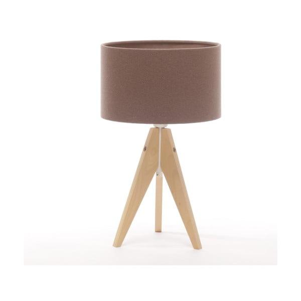 Lampa stołowa Artist Cylinder Dark Taupe/Natural