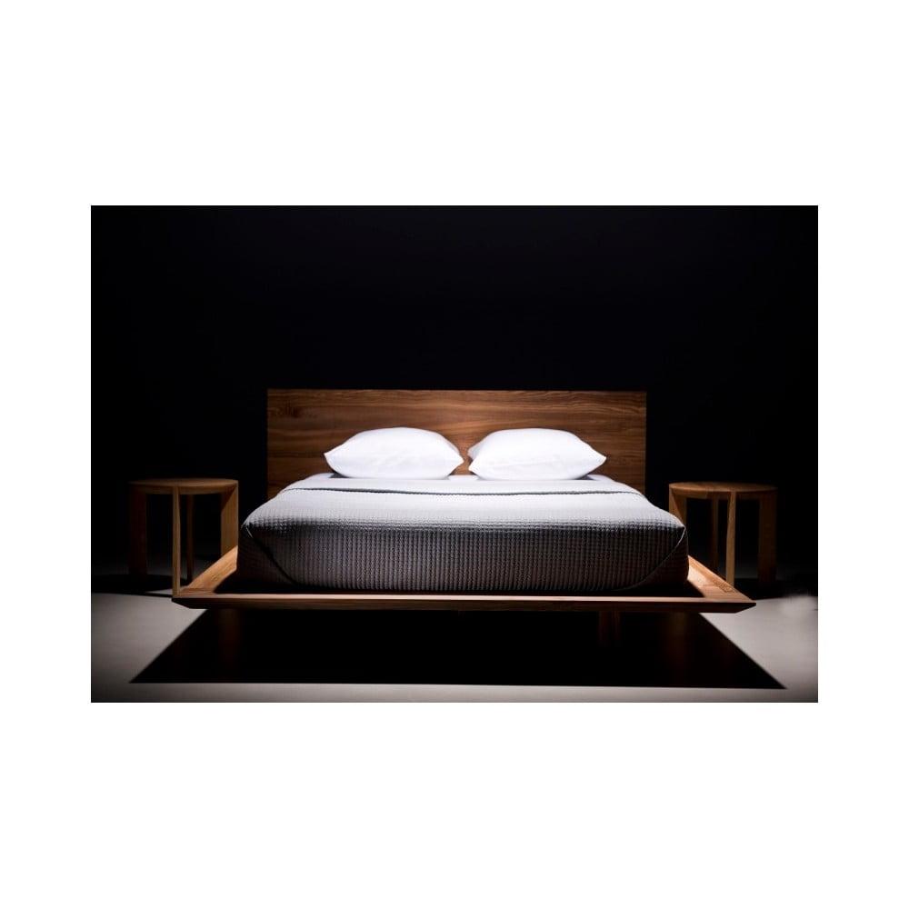 łóżko Z Drewna Jesionowego Pokrytego Olejem Mazzivo Slim 200x220 Cm Bonami