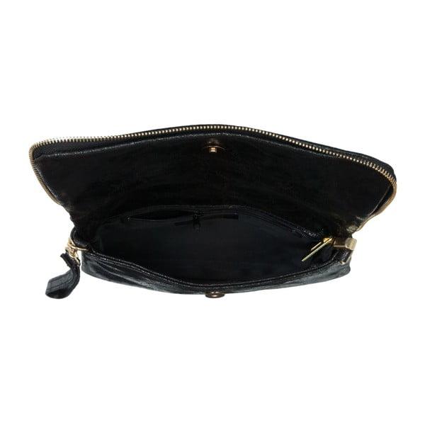 Czarna torebka skórzana Andrea Cardone Marco